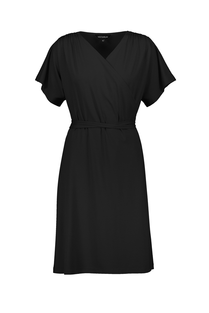 GREENWICH WRAP DRESS