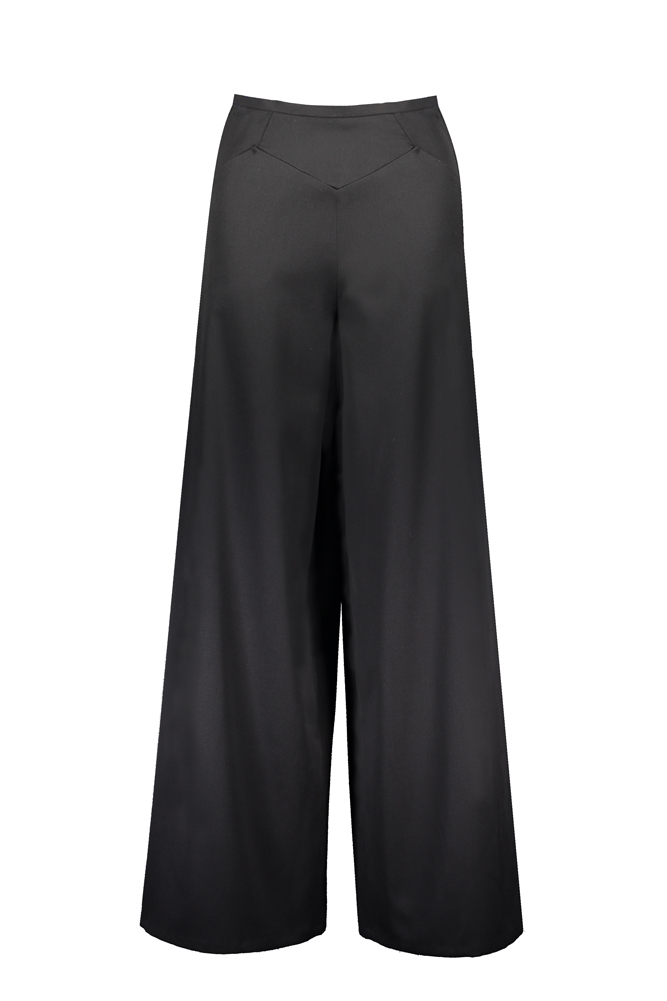 KENSINGTON LONG TROUSERS WOOL
