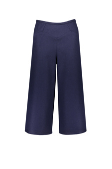 KENSINGTON MIDI TROUSERS WOOL