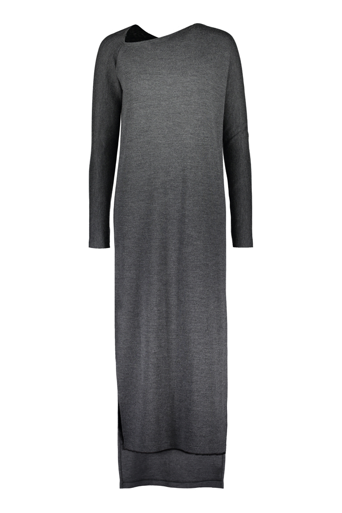 SEATTLE LONG MERINO DRESS