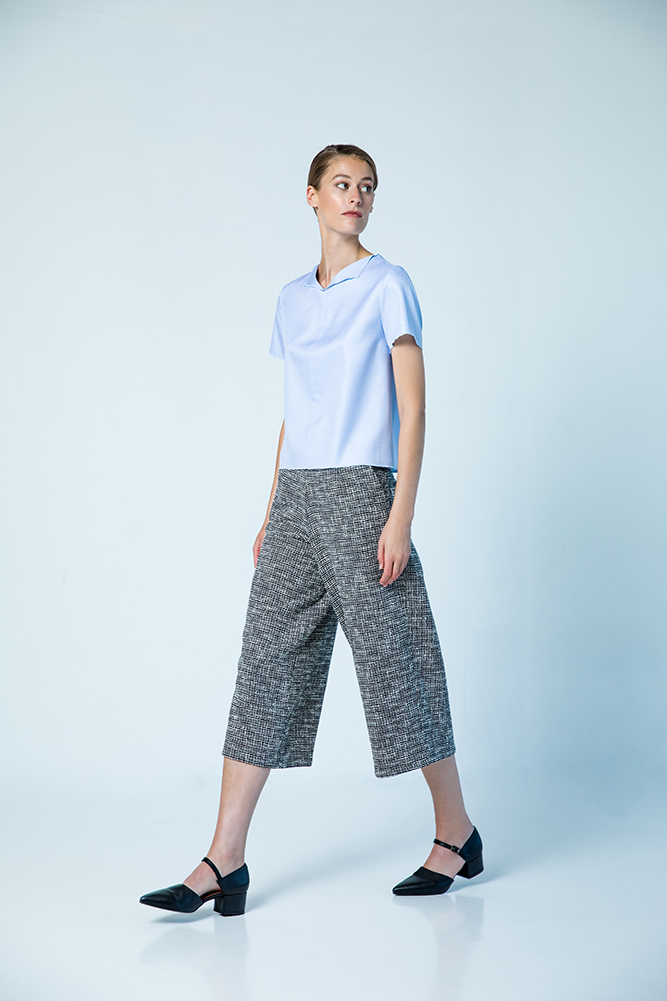 Copenhagen tee Kensington trousers cotton