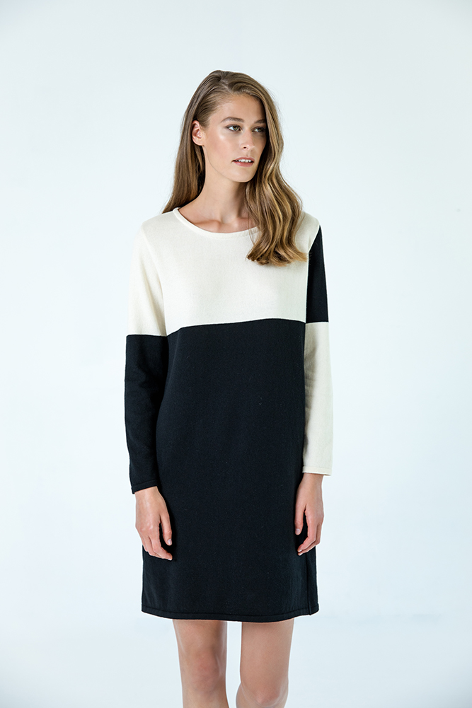 Sapporo dress organic cotton