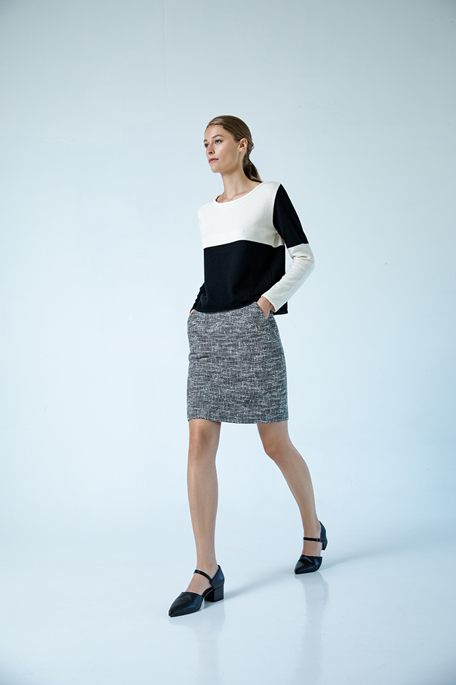 Sapporo sweater organic cotton Mitte miniskirt cotton